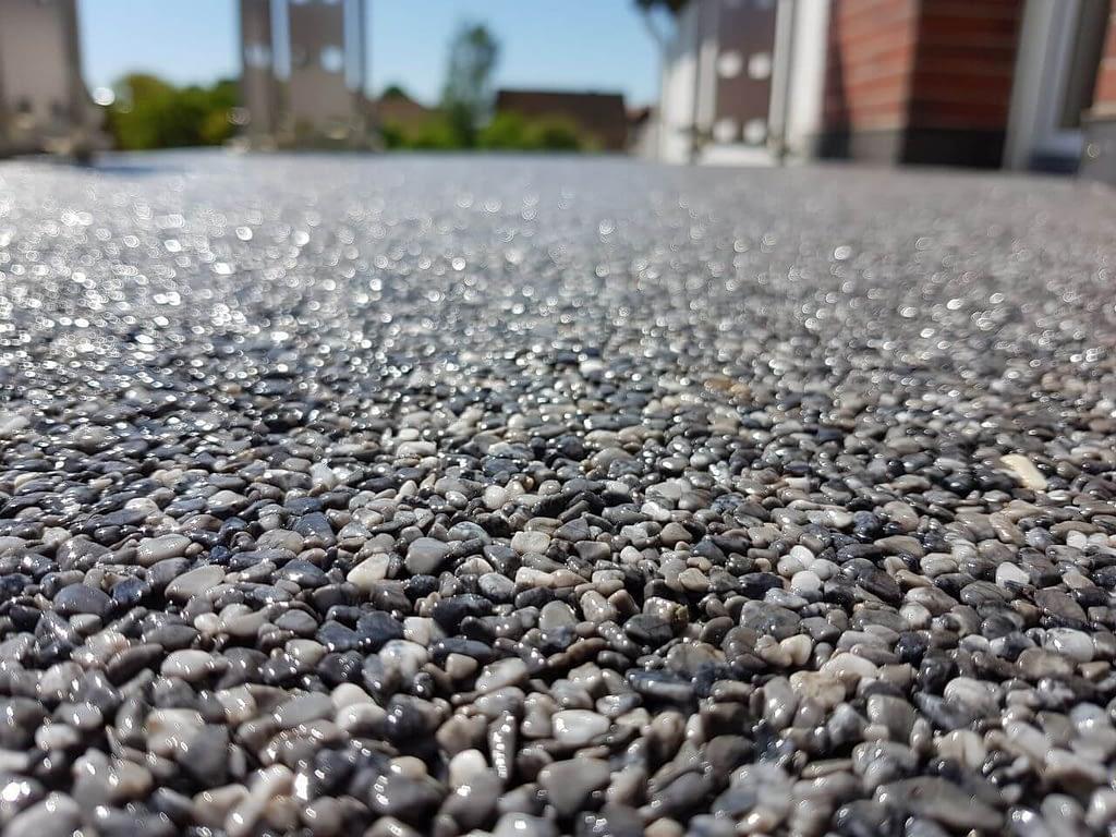 Steinteppich bodenbeschichtung treppen